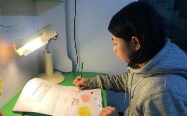 """Việc tự học ở nhà giúp học sinh không bị """"hổng"""" kiến thức."""