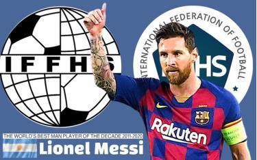 Messi là cầu thủ xuất sắc nhất thập kỷ (2011-2020)