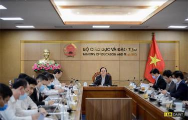 Bộ trưởng Phùng Xuân Nhạ chủ trì cuộc họp