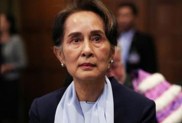 Cố vấn Nhà nước Myanmar Aung San Suu Kyi