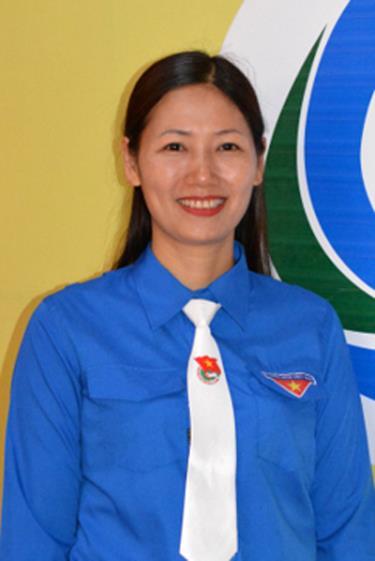 Đồng chí Đoàn Thị Thanh Tâm - Bí thư Tỉnh đoàn Yên Bái.