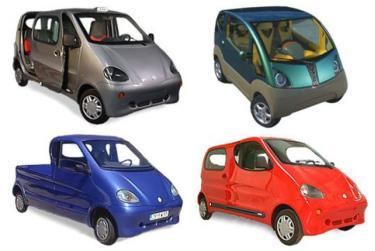 Những mẫu xe hơi chạy bằng khí nén.