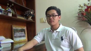 Nguyễn Trung Duy Anh - Thí sinh đạt 30 điểm khối B: Thần tượng bố mẹ, ước mơ trở thành bác sĩ từ nhỏ. Ảnh LDO