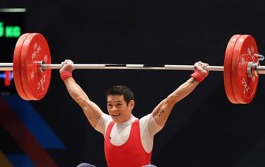 Weightlifter Thach Kim Tuan is expected to qualify for the Tokyo Olympics 2020 in the men's 61kg category.