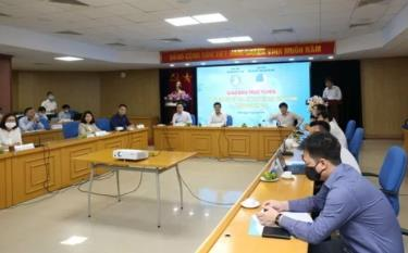 At the online conference held by the Vietnam National Union of Students Central Committee and the Vietnam Youth Federation Central Committee with their branches in the foreign countries.
