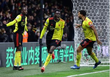 Bàn thắng là thành quả xứng đáng cho nỗ lực của Watford.