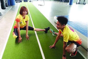 Quách Thị Lan nỗ lực tập luyện cho mục tiêu giành vé dự Olympic 2020