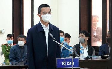 Bị cáo Đặng Anh Tuấn tại phiên tòa xét xử sơ thẩm.