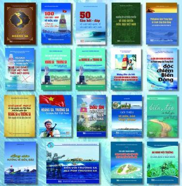 Bộ sách về biển, đảo của NXB Thông tin và Truyền thông.