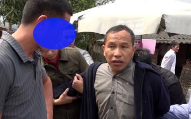 Đối tượng Giàng A Chư bị Công an huyện Văn Chấn đã bắt quả tang đang vận chuyển trên người trên 0,5 kg bột trắng nghi là Heroin.
