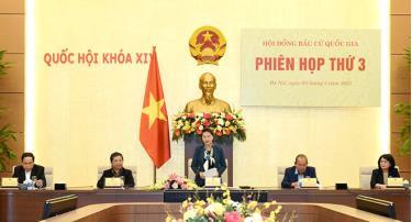 Chủ tịch Quốc hội Nguyễn Thị Kim Ngân chủ trì phiên họp