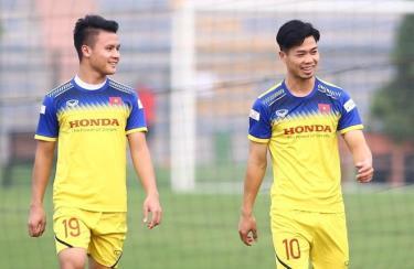 ĐT Việt Nam chuẩn bị lên đường sang UAE đá nốt 3 trận bảng G vòng loại World Cup 2022