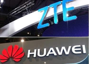 Mỹ đưa Huawei và ZTE vào