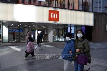Một cửa hàng của Xiaomi ở Bắc Kinh, Trung Quốc, ngày 15/1/2021.