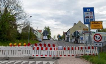 Rào chắn tại biên giới Pháp và Đức.