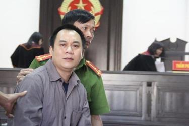 Tài xế container Lê Ngọc Hoàng.