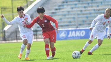 Đội tuyển nữ Việt Nam có trận đấu thứ 2 của mình tại vòng loại Olympic Tokyo 2020.