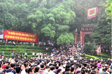 Lễ hội Đền Hùng.