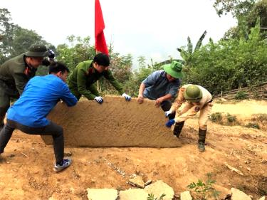 ĐVTN Công an huyện Mù Cang Chải xung kích, tình nguyện vì cuộc sống cộng đồng.