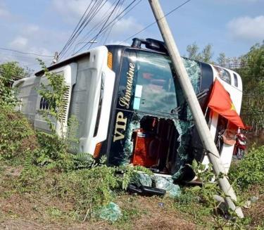 Một vụ TNGT xảy ra ở Đồng Nai ngày 13/4
