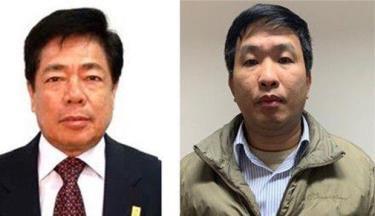 Trương Văn Tuyến và Phạm Thanh Sơn - Cựu Tổng Giám đốc và Phó Tổng giám đốc Vinashin.