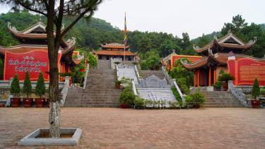 Đền thờ Chu Văn An tại Chí Linh, Hải Dương.