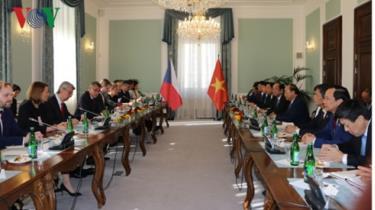 Thủ tướng Chính phủ Nguyễn Xuân Phúc đã hội đàm với Thủ tướng Andrej Babis.