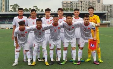 Đội hình xuất phát của U18 Việt Nam