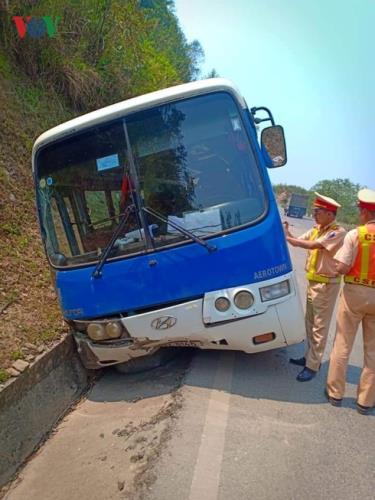 Nguyên nhân dẫn đến vụ tai nạn được xác định là do xe khách bị mất phanh.