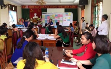 Hội thảo về du lịch cộng đồng do Hội Phụ nữ tỉnh tổ chức tại thị xã.