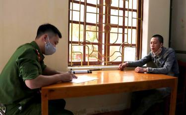 Tại cơ quan điều tra, đối tượng Lò Văn Tân đã khai nhận toàn bộ hành vi phạm tội của mình.
