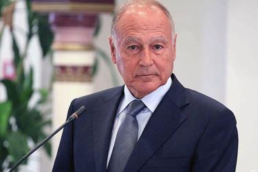 Tổng Thư ký Liên đoàn Arab - Ahmed Aboul Gheit.