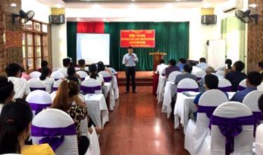 Sở KH&CN tổ chức Hội nghị tập huấn về sở hữu trí tuệ tại thị xã Nghĩa Lộ.