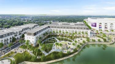Thành phố Yên Bái ngày càng khang trang, sạch đẹp. (Ảnh: Thanh Miền)