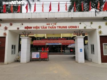 Bệnh viện Tâm thần Trung ương 1, nơi xảy ra vụ việc.