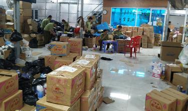Triệt phá kho hàng giả, hàng nhái lớn nhất từ trước đến nay tại Ninh Bình