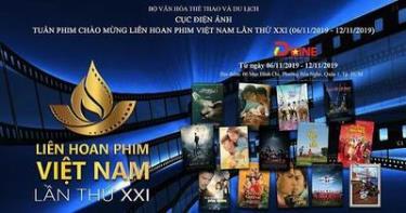 Liên hoan Phim Việt Nam lần thứ XXI tổ chức năm 2019 đã chọn lựa được 104 bộ phim tiêu biểu các loại hình: phim truyện điện ảnh, phim tài liệu, khoa học và phim hoạt hình - Ảnh: Internet