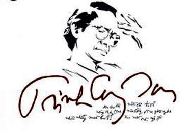 Nhạc sĩ Trịnh Công Sơn (Ký họa)