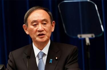 Thủ tướng Nhật Bản Yoshihide Suga.