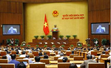 Các đại biểu họp Quốc hội