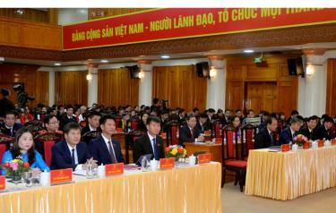 Các đại biểu dự Kỳ họp thứ 20 – HĐND tỉnh Yên Bái khóa XVIII
