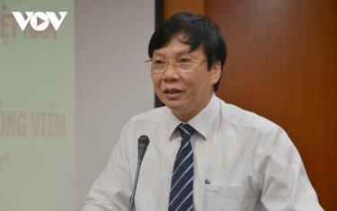 Ông Hồ Quang Lợi, Phó Chủ tịch thường trực Hội Nhà báo Việt Nam, Phó Chủ tịch Hội đồng Giải báo chí Quốc gia 2020.