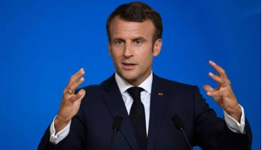 Tổng thống Pháp Macron.