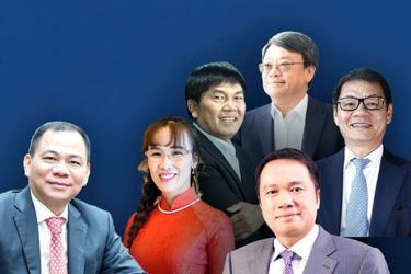 6 tỉ phú Việt Nam trong danh sách mới được Forbes cập nhật