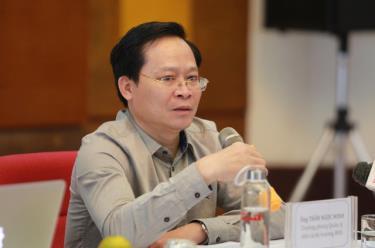 Ông Trần Ngọc Minh - Trưởng phòng Quản lý nhà và Thị trường Bất động sản - Sở Xây dựng Hà Nội.