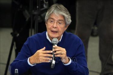 Ứng cử viên Tổng thống Ecuador Guillermo Lasso.