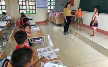 Tăng cường tiếng Việt giúp học sinh tự tin, học tốt hơn khi vào lớp 1.