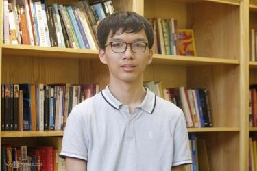 Nguyễn Mạnh Quân, học sinh Trường THPT Chuyên Hà Nội-Amsterdam.