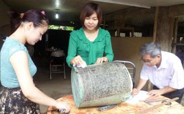 Thạp đồng Hợp Minh là Bảo vật quốc gia.