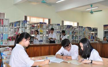 Nhiều học sinh Trường THPT Chuyên Nguyễn Tất Thành có chứng chỉ IELTS trước Kỳ thi tốt nghiệp THPT 2021.